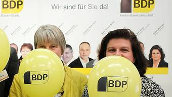 Die BDP Baselland setzt bei den Nationalratswahlen auf Frauenpower, u.a. mit Marie-Therese Müller (links) und Esther Meisinger.
