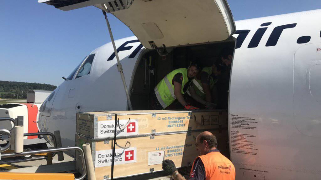 EDA schickt weitere Hilfsgüter zu den Flüchtlingen nach Lesbos