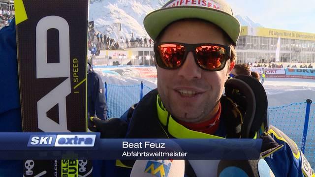Feuz ist Abfahrtsweltmeister!