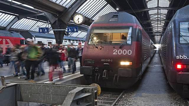 Hauptbahnhof Zürich (Archiv)