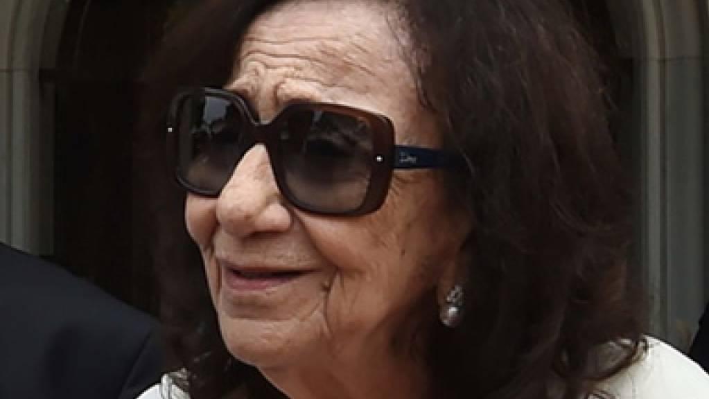 Wenige Wochen nach ihrem Mann ist die frühere tunesische Präsidentengattin Chadlia Caïd Essebsi im Alter von 83 Jahren gestorben. (Archivbild)