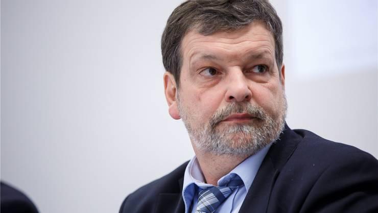 Regierungsrat Roland Heim (CVP, Solothurn) ist seit 2013 Finanzdirektor des Kantons Solothurn