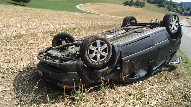 Die 33-Jährige war einem entgegenkommenden Auto ausgewichen.