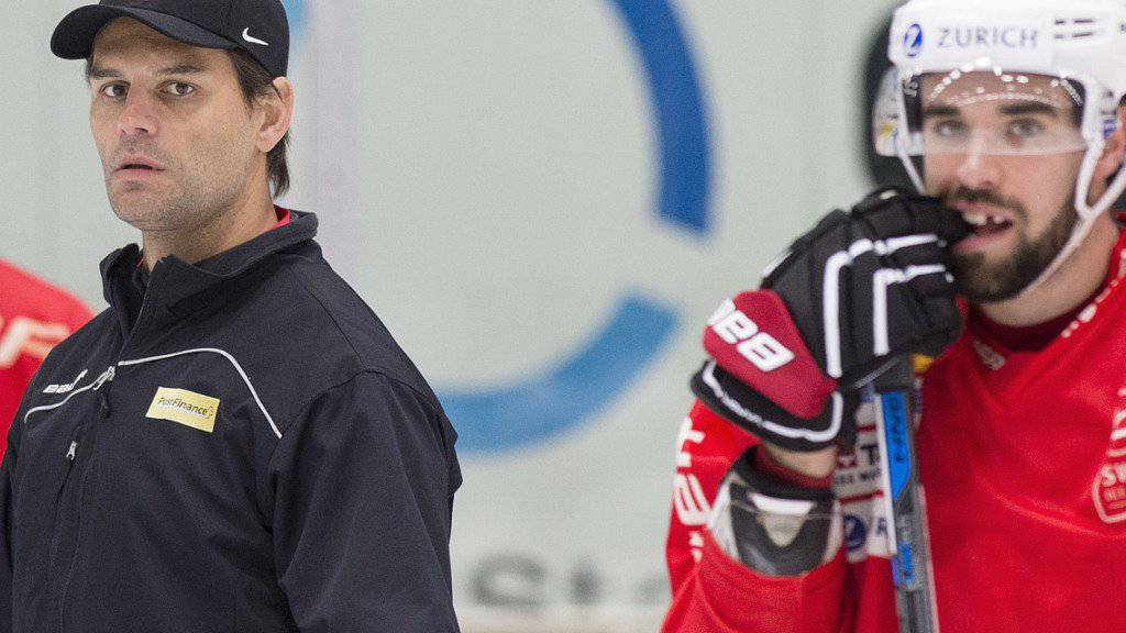 U18-Trainer Thierry Paterlini verlor mit seinem Team an der WM gegen Kanada