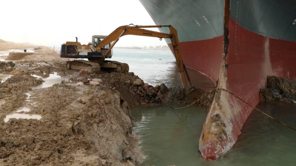Suez-Blockade kostet pro Woche bis zu 10 Milliarden Dollar