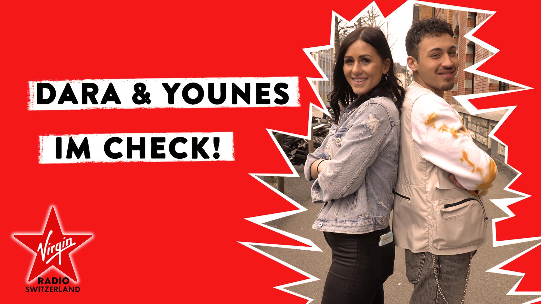 Dara & Younes im Check