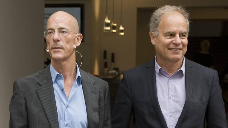 Das ETH-Studio Basel schliesst – weil Jacques Herzog (l.) und Pierre de Meuron (r.) aufhören