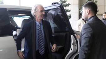 Geir Pedersen, der neue Uno-Sondergesandte für Syrien, will sich in Damaskus mit Aussenminister Walid al-Muallim treffen.