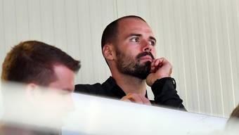 Vom Beobachter zum emotionalen Motivator: Sportchef Marc Grieder rückt näher zum Team. Bruno Kissling