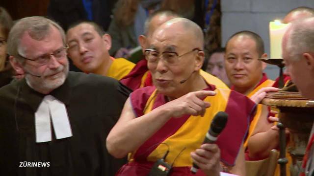 Public Viewing wegen Dalai Lama