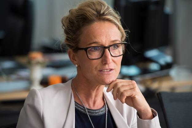 Susanne Hochuli: «Die Zelte sind eine Übergangslösung.»