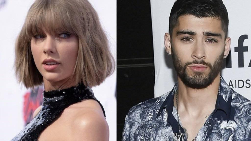 Mal so nebenbei auf Twitter verkündet: Die Popstars Taylor Swift (l.) und Zayn Malik haben eine gemeinsame Single veröffentlicht. (Archivbilder)