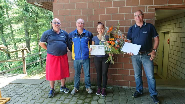 Philipp Detlef, Michael Kappeler, Chelsea Chertan und Markus Zaugg (v.L)
