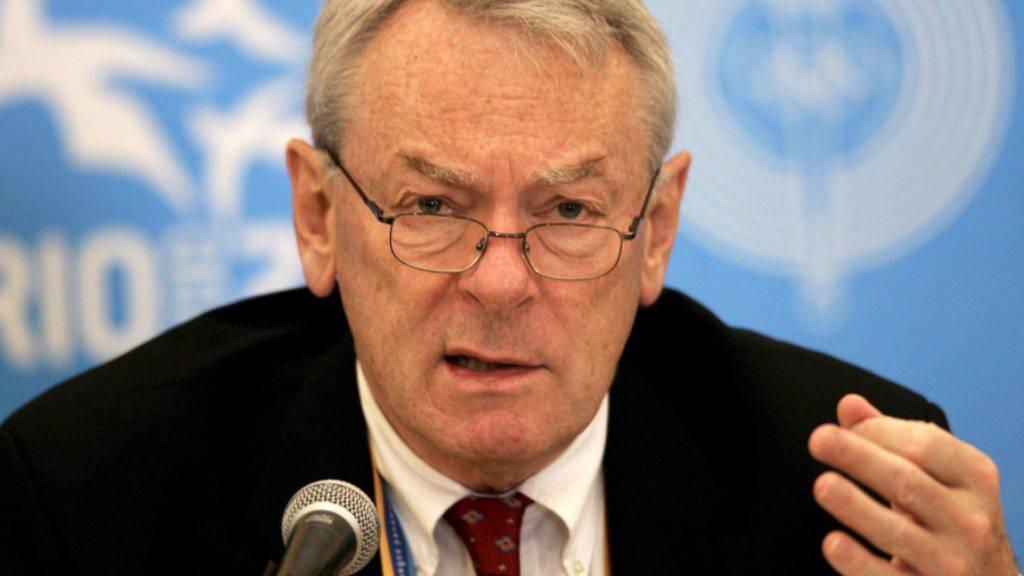 Richard Pound verteidigt das IOC, den Absage-Entscheid der Olympischen Spiele zu spät getroffen zu haben