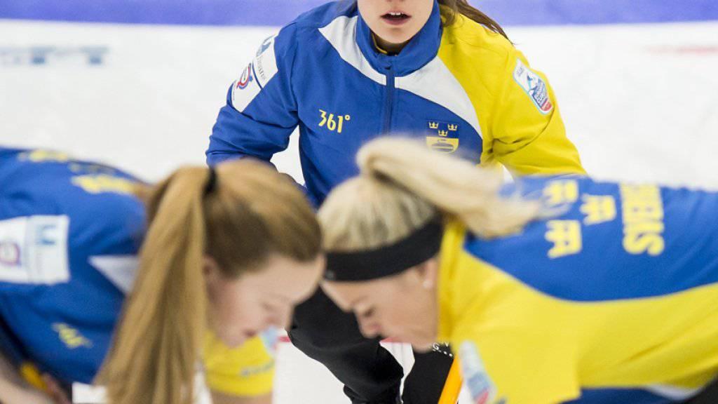 Anna Hasselborg versagte mit ihrem letzten Stein