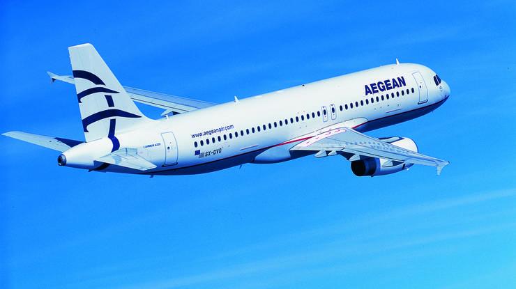 Auch die grösste griechische Fluggesellschaft Aegean fliegt Zürich mehrmals pro Woche an.