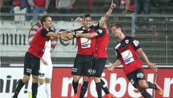 Die Aarauer behielten ihre gute Form und konnten auch gegen den FC Wil jubeln.