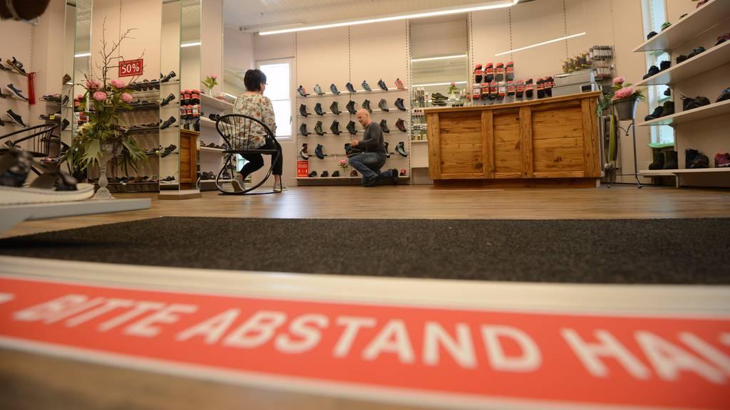 Die 10-Quadratmeter-Regel in den Läden ist seit letztem Samstag aufgehoben