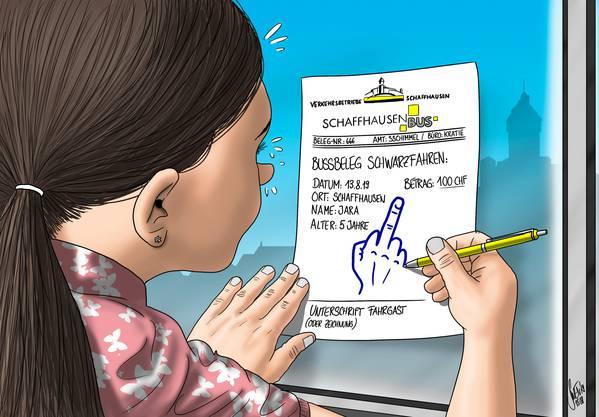 Karikatur: Silvan Wegmann