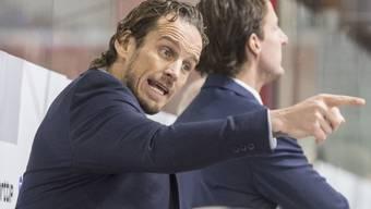 Nationalcoach Patrick Fischer und die Schweiz treten heute in Memmingen mit einem U25-Team gegen Deutschland an