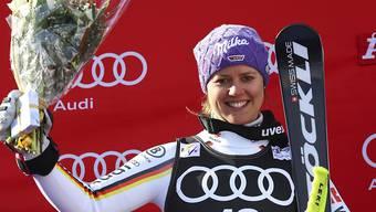 Viktoria Rebensburg gewinnt letztlich kampflos den Riesenslalom-Weltcup