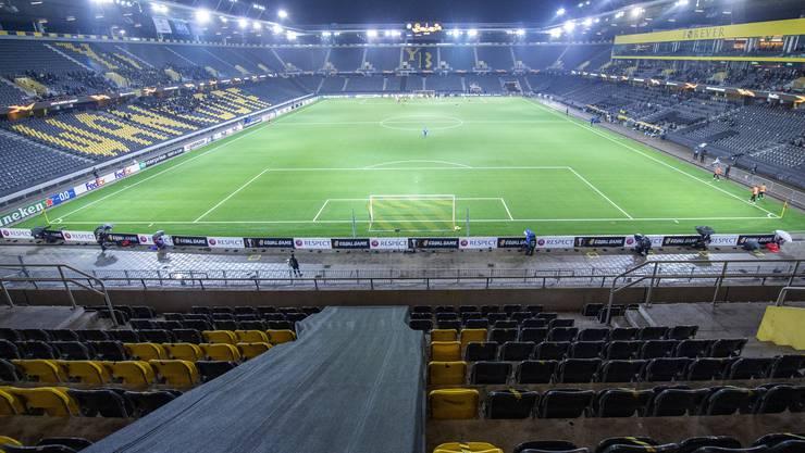 Am Donnerstag waren noch 1000 Zuschauer erlaubt. Am Wochenende gibt's in Bern bereits wieder Geisterspiele.