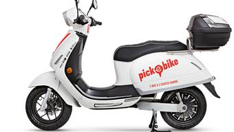 E-Scooter von pick a bike