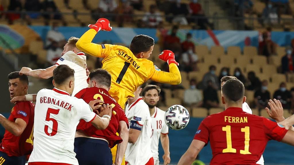 Spanien gewinnt auch gegen Polen nicht