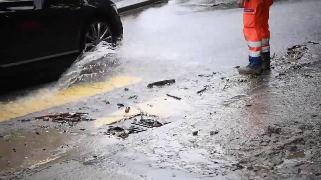 Luzerner Feuerwehren nach Unwettern weiterhin im Einsatz