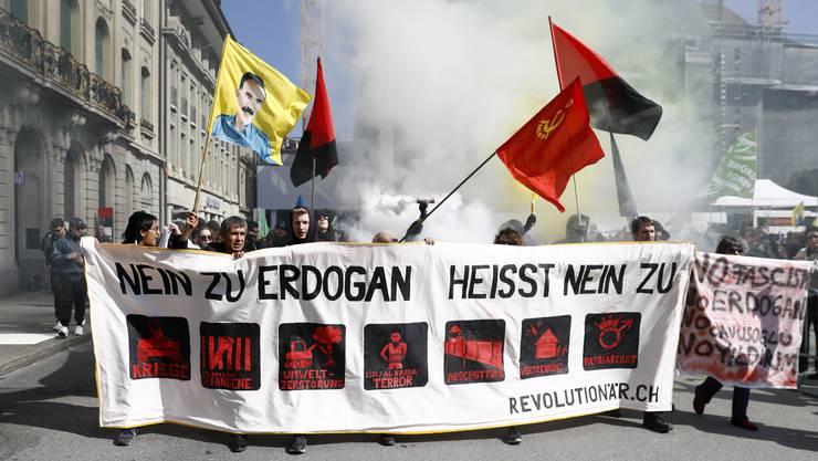 Das Egerkinger Komitee reitet auf einer Anti-Erdogan-Welle.