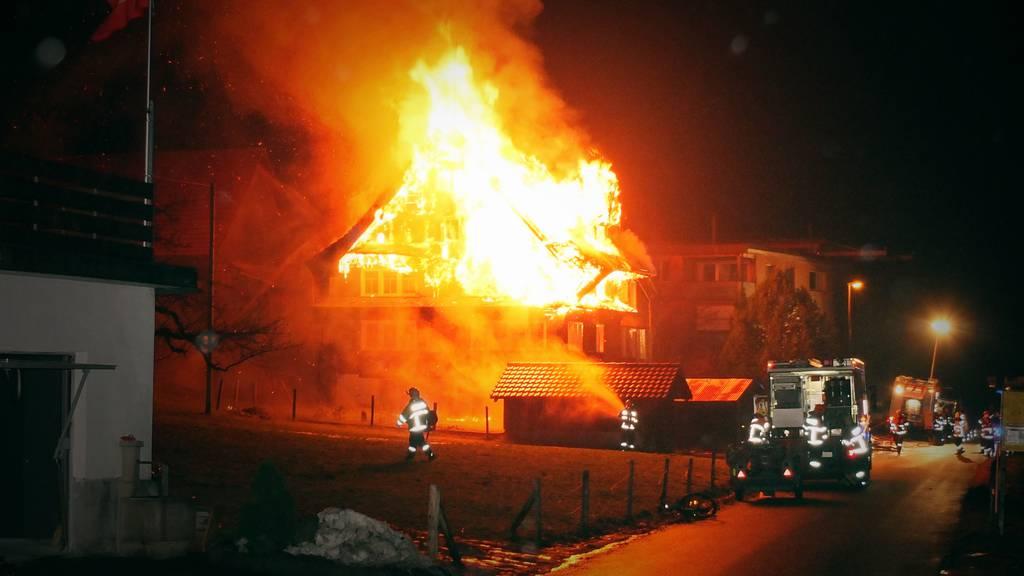 Haus zerstört