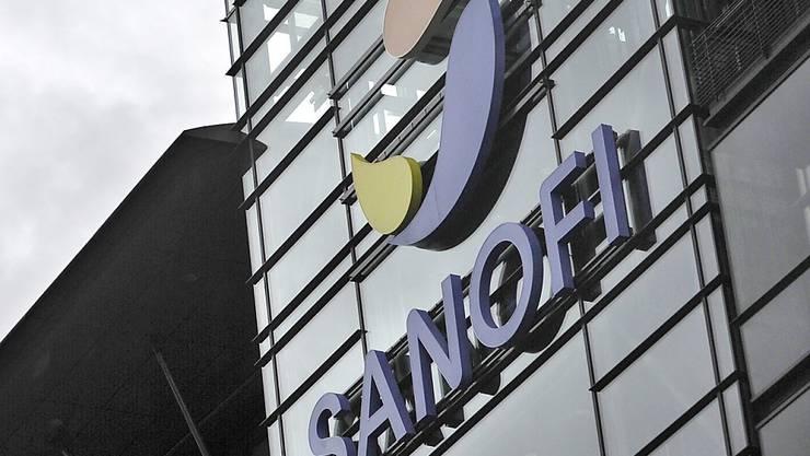 Der Pharmakonzern Sanofi profitierte im ersten Quartal nicht zuletzt von der Erhöhung der Lagerbestände für Medikamente. (Archivbild)
