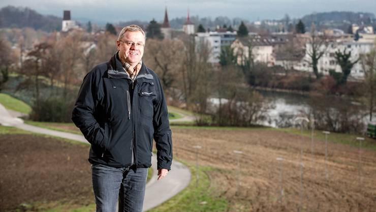 Obwohl die Umfahrung Mellingen ins Stocken geraten ist, bleibt Gemeindeammann Bruno Gretener zuversichtlich.