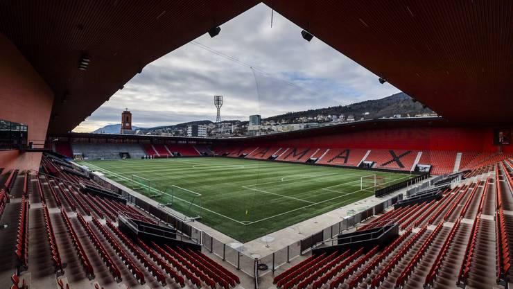 Bleibt vorerst verwaist: Das Stade de la Maldière in Neuchâtel.