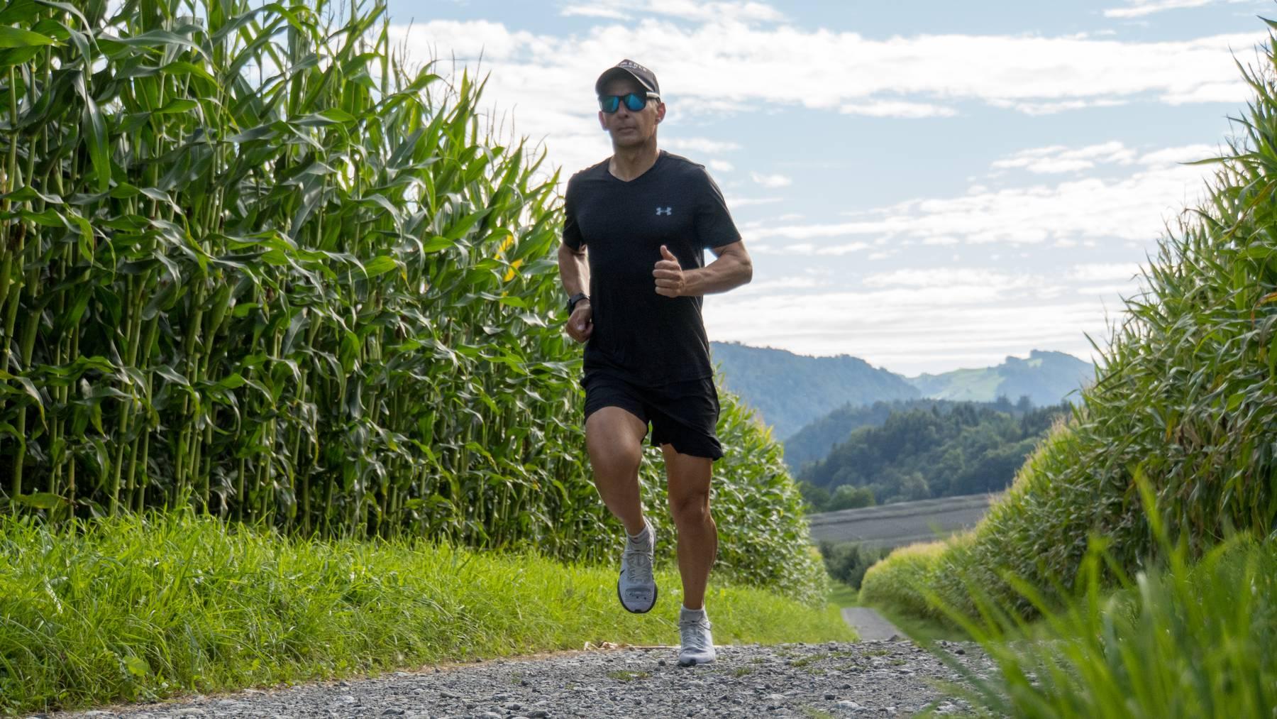 Ironman-Triathlet Mike Schifferle