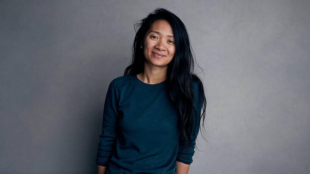 Regisseurin Chloé Zhao ist mit ihrem Drama «Nomadland» auf Erfolgskurs.