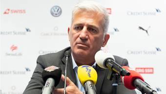 Trainer Vladimir Petkovic: «Wir dürfen nicht vergessen, dass wir uns für ein Turnier der vier besten europäischen Teams qualifiziert haben.»
