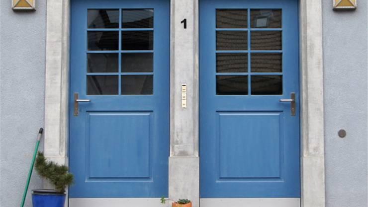 Doppeltür als Symbol für Koexistenz: Die früheren Häuser in Lengnau und Endingen hatten zwei Türen – eine für Christen, eine für Juden.