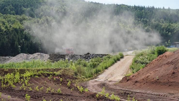 Der Kanton Baselland hat vor, die Deponie Elbisgraben zu sanieren.