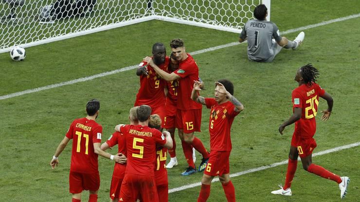 Spielstand Belgien