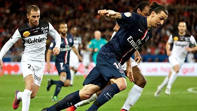 Einmal mehr nicht zu halten: Zlatan Ibrahimovic