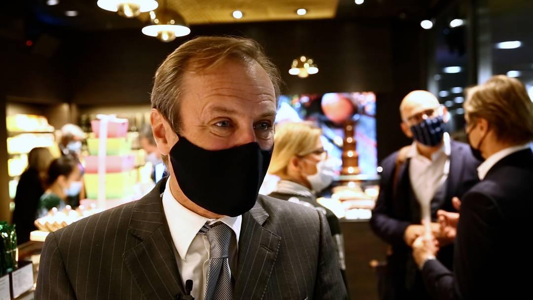 Sprüngli feiert Laden-Eröffnung im Badener Metroshop – im Interview: Milan Prenosil, VR-Präsident und Mitinhaber von Sprüngli