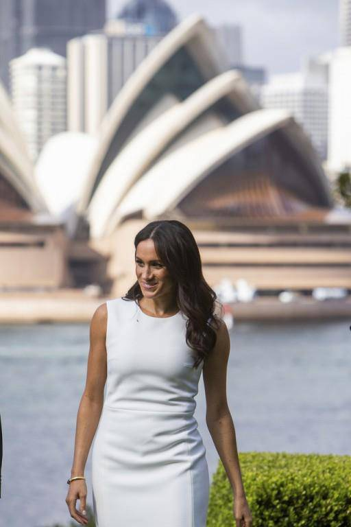Meghan und Harry in Australien (© Keystone)