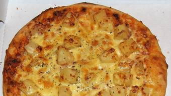 Pizza Hawaii - kein kulinarischer Höhenflug.