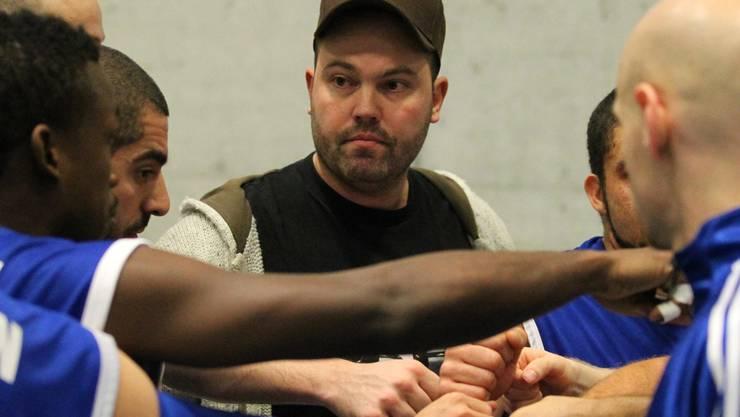 Unicorn-Trainer Patrick Frösch ist vor dem letzten Saisonspiel zuversichtlich.