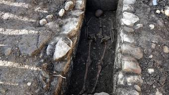 Skelettfund an der Schützengasse Grenchen