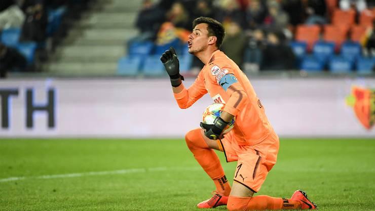 Der neue FCB-Goalie Heinz Lindner war bisher nur als Gegner im St. Jakobpark.