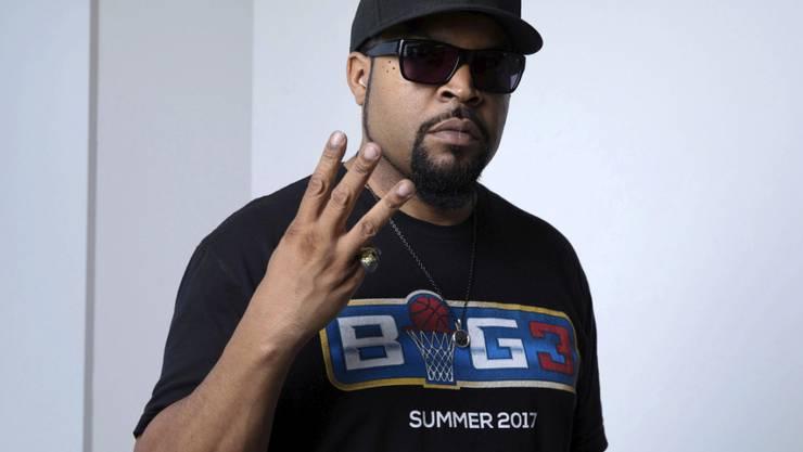 Der US-Rapper Ice Cube geht auf seinem neuen Album mit praktisch allem hart ins Gericht. (Archivbild)