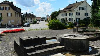 Der Kreisel bei der Einmündung Lostorferstrasse (rechts) soll einen Durchmesser von 28 Metern haben.