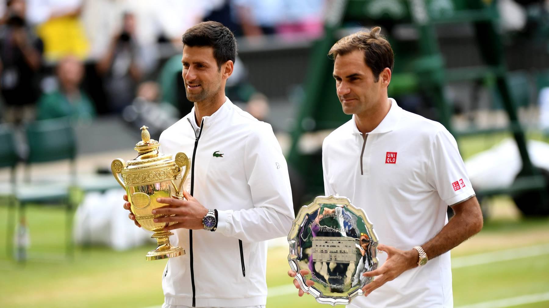 Roger Federer verliert den Wimbledon-Final